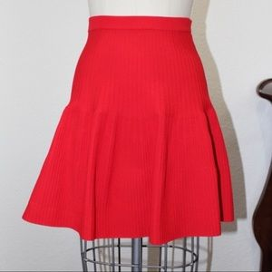 Olivaceous Red Knot & Flare Skirt